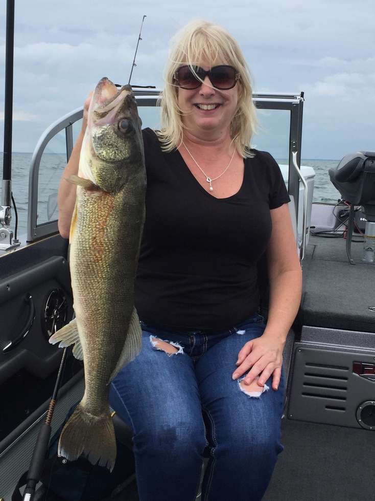 Juls Walleye Fishing Adventures Lake Erie Walleye Fishing